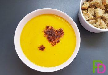 zupa krem z dyni, zupa dyniowa, przepisy z dynią