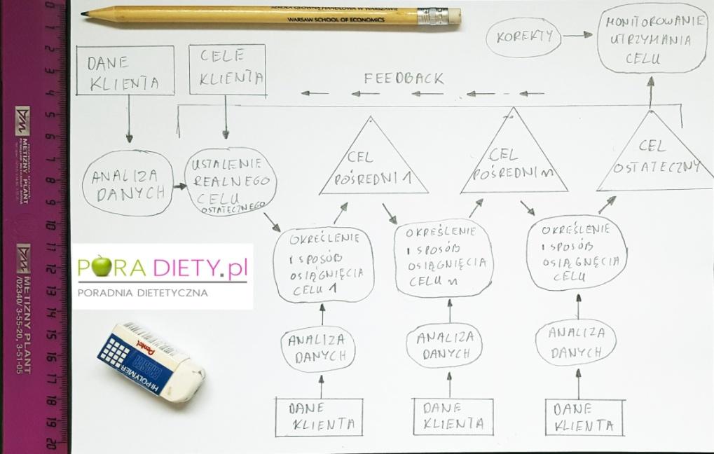proces zmiany, efektywna dieta, indywidualna dieta