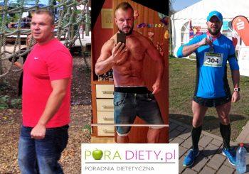 Metamorfoza Pana Łukasza – 14 kg w 4 miesiące