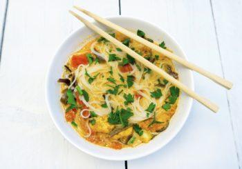 Tajska zupa z kurczakiem przyspieszająca metabolizm