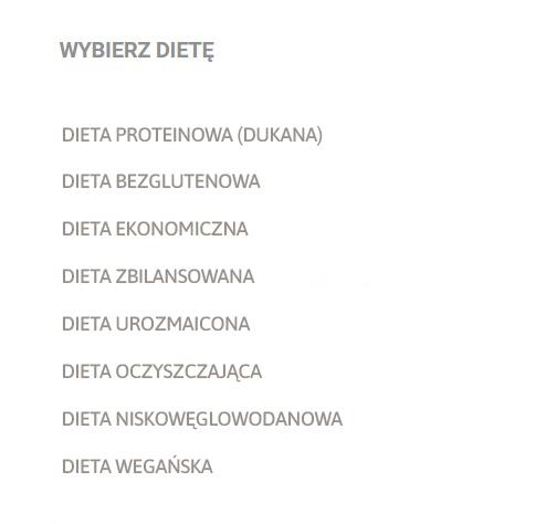diety online