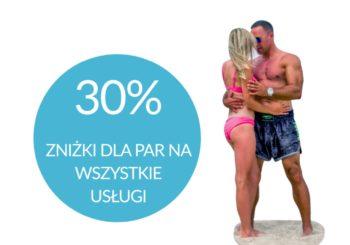 Usługi stacjonarne dla par 30% taniej